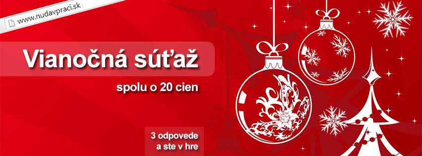 Vianočná súťaž o 20 cien s www.nudaVpraci.sk