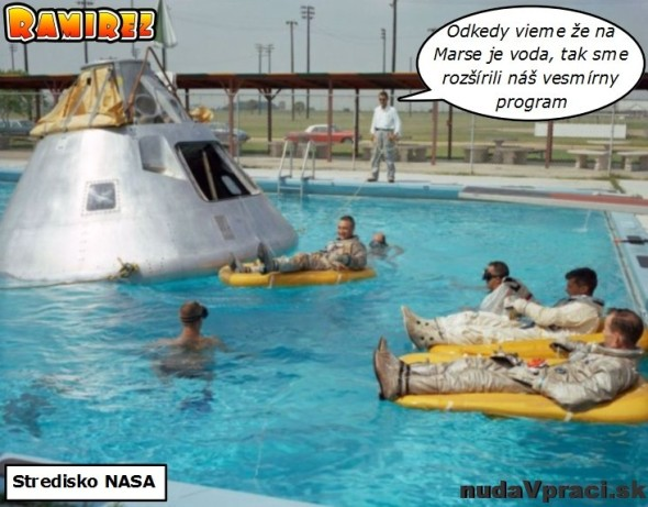 NASA na nič nezabúda