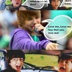 Justin Bieber komix
