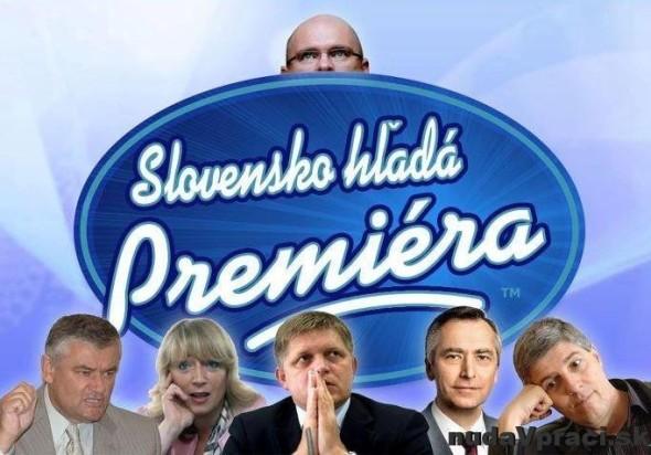 Slovensko hľadá premiéra