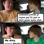 Výsluch Justina Biebera