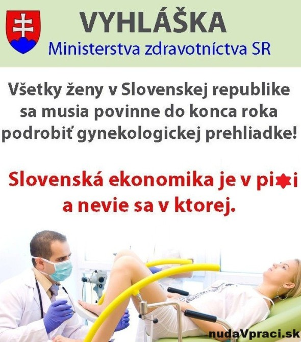 Vyhláška Ministerstva zdravotníctva
