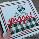 Originálne pizza logo