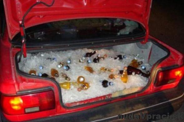 Pojazdná chladnička