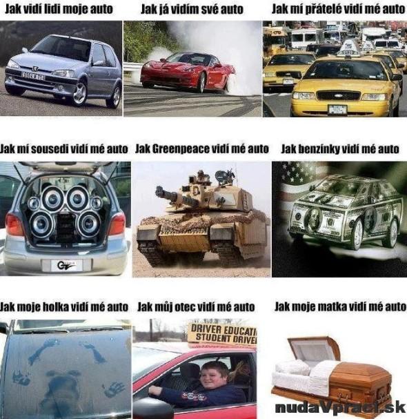 Ako vidia moje auto