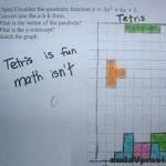 Tetris je zábava