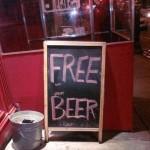 Zdarma a pivo