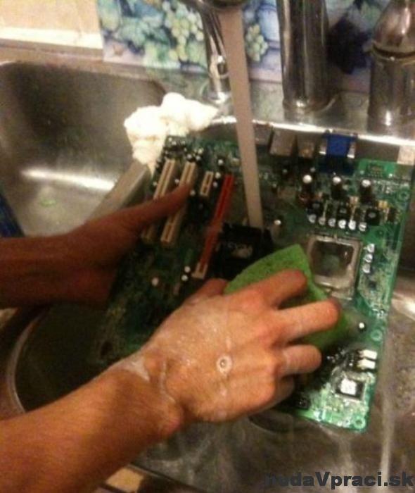 Ako neumývať svoj počítač
