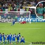 Anglický milionár ukázal na futbale hráčom Talianska penis