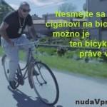 Cigán na bicykli