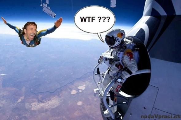 Chuck Norris si skočil tiež