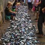 Mobil market v Číne