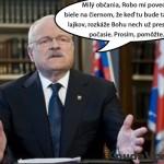 Výzva prezidenta Ivana Gašparoviča