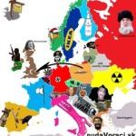 Ako vnímame jednotlivé krajiny