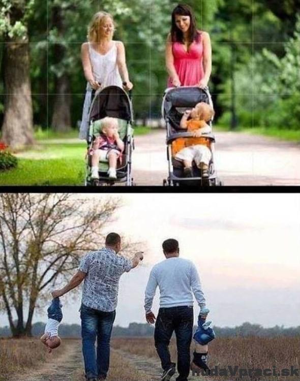 Na prechádzke s deťmi