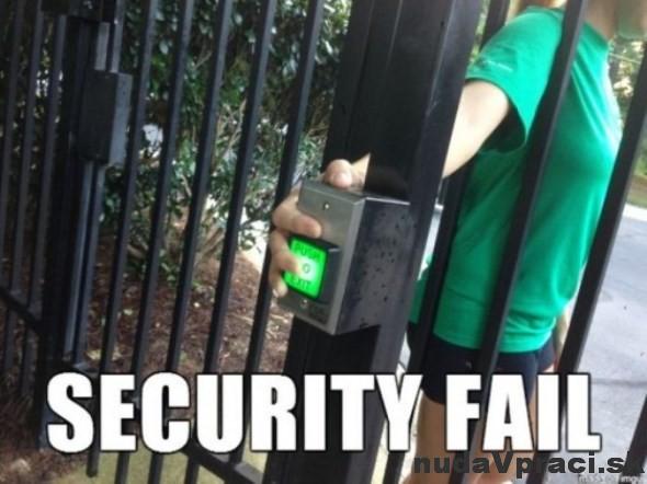 Bezpečnosť na prvom mieste