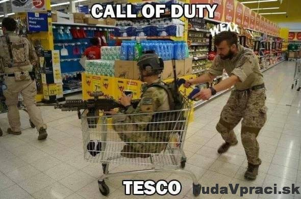 Call of Duty - edícia Tesco