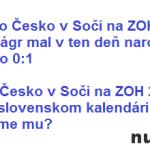 Ako na Jágra v zápase proti Česku