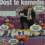 Česko sa takto zabáva hokejom