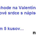 Muž v obchode na Valentína