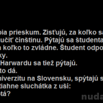 Prieskum medzi študentmi