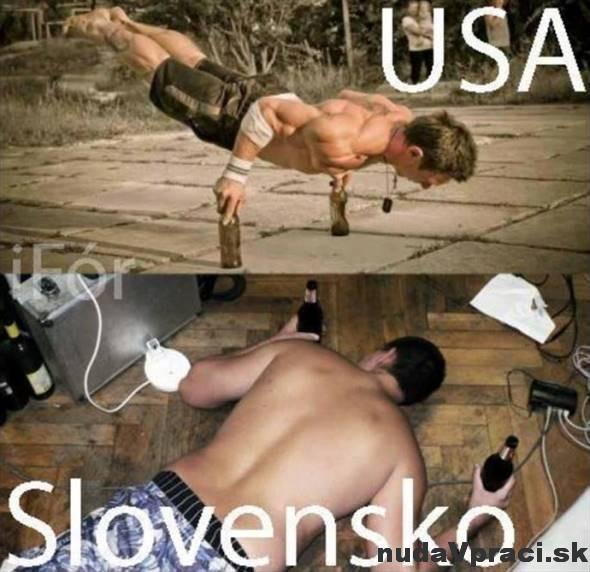 USA vs Slovensko
