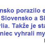 Zápas Slovenska a Slovinska na ZOH v Soči