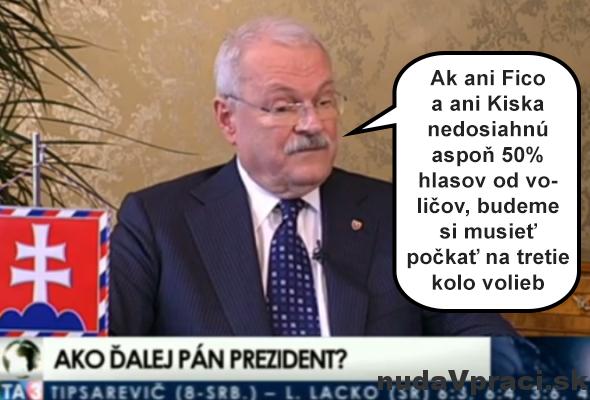 Gašparovič má vo voľbách jasno
