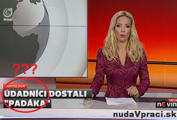 Jazykové okienko televízie JOJ (#2)