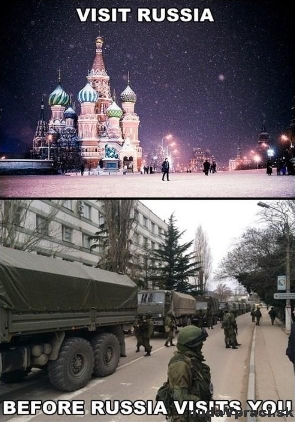 Navštívte Rusko skôr ako...