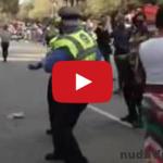 Policajt všetkých šokoval – tancuje výborne!
