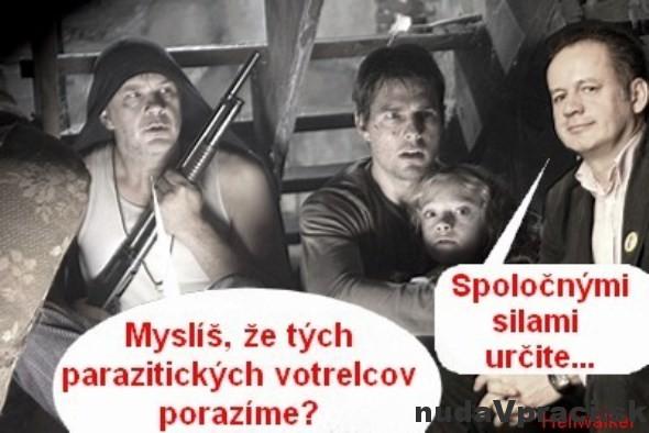 Vojna svetov na Slovensku