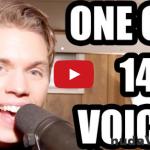 Úžasné! Jeden muž a 14 rôznych hlasov