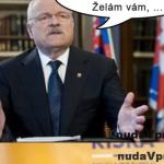 Ivan Gašparovič praje Andrejovi Kiskovi