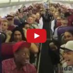 Keď sú na palube lietadla herci z muzikálu