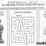 Skúšobný test pre policajtov v Česku