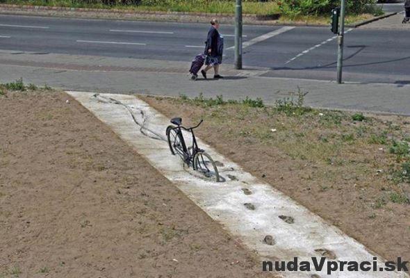Keď sa vás chodník nechce vzdať
