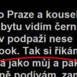 Niekde v Prahe a černoch s notebookom