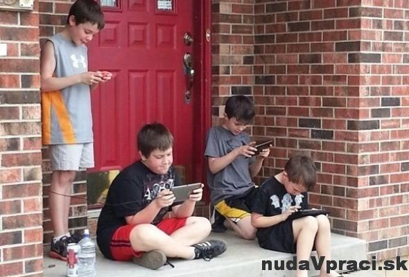 Poslal som deti hrať sa von