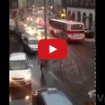 Praha plávala! Centrum takto zaliala voda