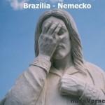 Socha Krista v Brazílii po ich prehre 1:7