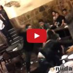 Toto je Taliansko! Hromadná bitka v reštaurácii
