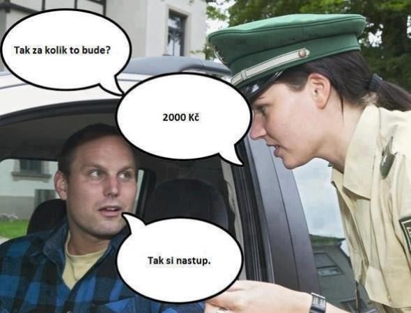 Policajtka a za koľko to bude