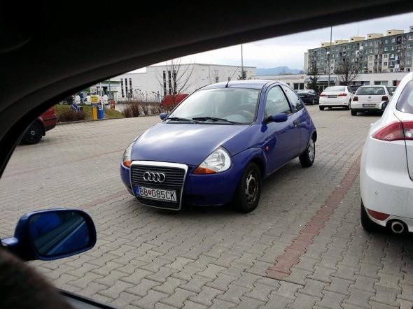 Audi v Banskej Bystrici