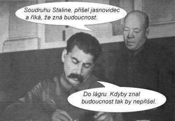 Stalin-a-jasnovidec