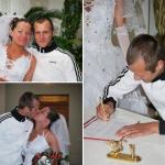 Adidas na svadbe v Rusku
