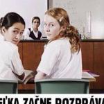 Keď učiteľka v škole…