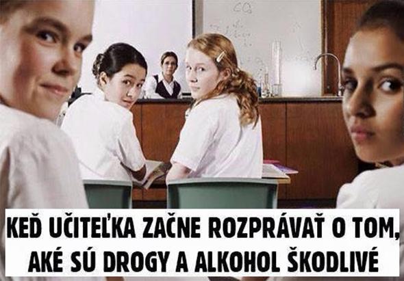 Keď učiteľka v škole...