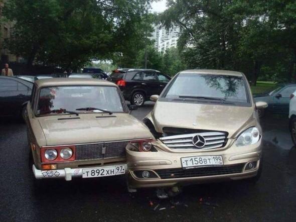 Ruské vs. nemecké auto
