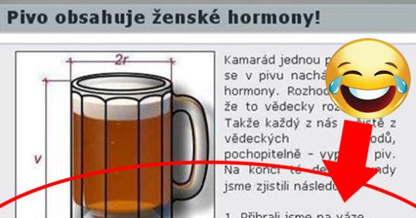 Dokázané! Pivo obsahuje ženské hormóny 1